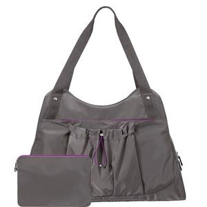 Baggallini Motivate Yoga Tote in Smoke